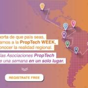 programa de conferencias de la PropTech Week